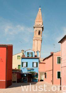 Campanile Storto, Burano