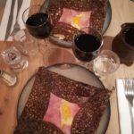 Crepes salate tipiche della tradizione parigina,