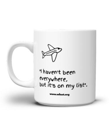 The Wanderlust Mug - la tazza del viaggiatore ...