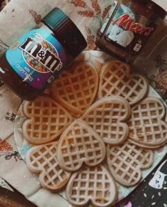 Waffles-cialde-dolci-cuore